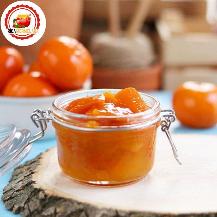 mermelada de mandarina sin azucar